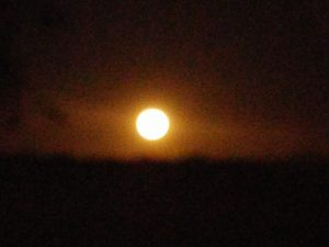 Super Moon rising over the Texas Hill Country on the first night of Sukkot!